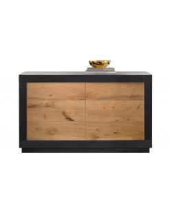 Sideboard mit Holztüren, Holzsideboard