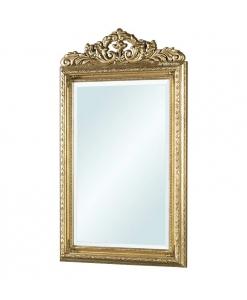 Spiegel mit Goldblatt