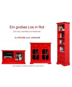 Rote Möbel