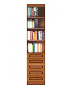 Modernes Bücherregal platzsparend
