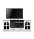 TV-Möbel in Weiß und Schwarz