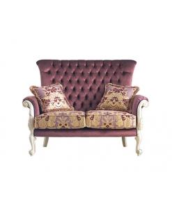Gepolstertes Sofa im Stil