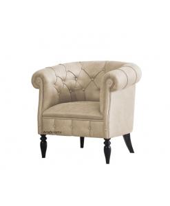 Klassischer gepolsterter Sessel