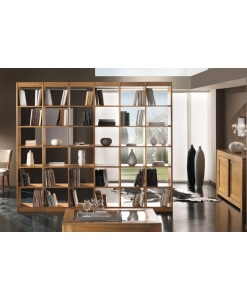 Bücherregal beidseitig aus Eschenholz