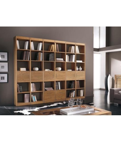 Wohnwand Design aus Eschenholz, Art.-Nr. MG722