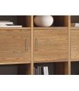 Wohnwand Design aus Eschenholz