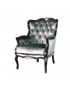 Sessel smaragdgrün