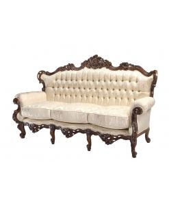 Sofa 3 Sitzplätze mit Sitzkissen