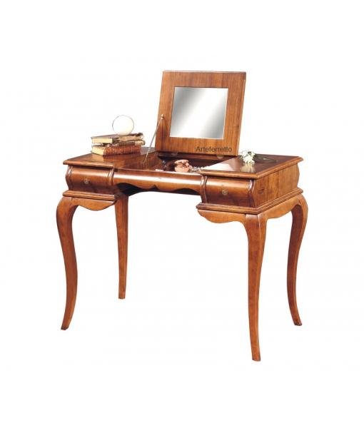 Schreibtisch mit Klappe und Spiegel, Art.-Nr. P727