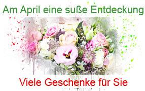 AM APRIL EINE SÜSSE ENTDECKUNG
