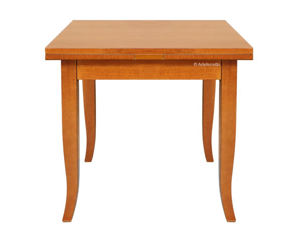 Holz Ausziehbar Mit Frank Möbel 80x80 Zusatzplatte Tisch Ybfv76Igy