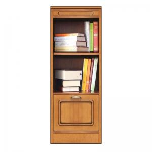Bücherregal mit Tür