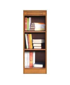 Bücherregal offen und niedrig