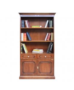 Bücherschrank mit Schublade