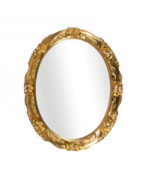 Spiegel Oval Blattgold, Art.-Nr. DB-98
