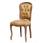 Stuhl mit Knöpfen klassisch