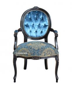Sessel schwarz klassisch