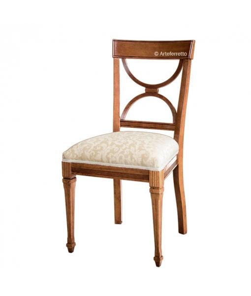 Stuhl mit gearbeiten Beinen art. AF-9583