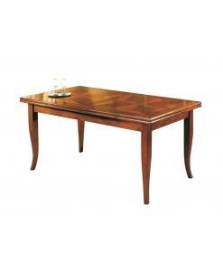 Tisch mit Intarsien rechteckig ausziehbar