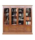 Anbauwand mit Bücherregal