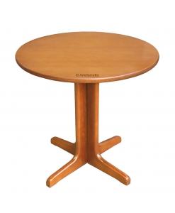 Runder Tisch, Tisch Rund 80 cm aus Holz