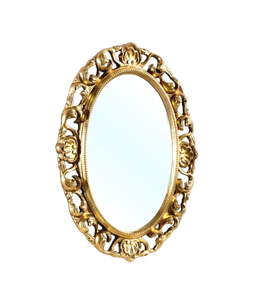 Spiegel oval Goldblatt, Art.-Nr. DB-H127