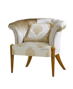 Muschelförmiger Sessel, Sessel Made in Italy
