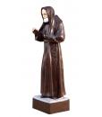 Holzschnitzerei Heiliger Pio von Pietrelcina. Holzschnitzerei Heiliger Made in Italy