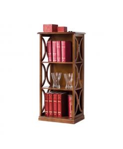 Kleines Bücherregal, Regal aus Holz