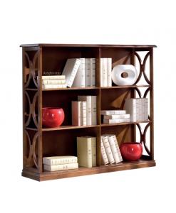 Wohnzimmer Bücherregal niedrig