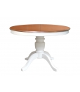 Runder Tisch 110 cm, ausziehbarer Rundtisch