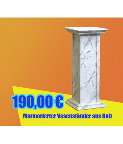Marmorierter Vasenständer, Art.-Nr, PV-01-M