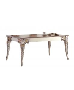Tisch rechteckig geschnitzt