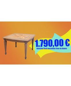 Intarsien Tisch