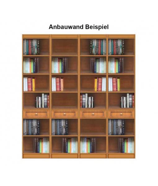 Anbauwand Bücherregal