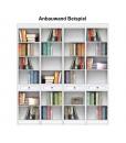 Anbauwand Bücherregal, Art.-Nr. EC-COM-M1