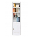Bücherregal mit Holz Tür