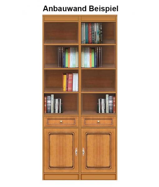 Wohnwand Bücherregal aus Holz, Art.-Nr. EC-COM-M4