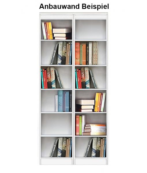 Bücherregal offenen Fächer Wohnwand