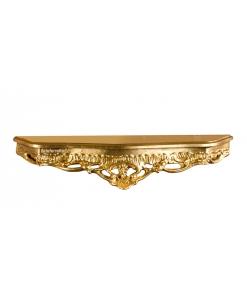 Goldene Wandkonsole geschnitzt