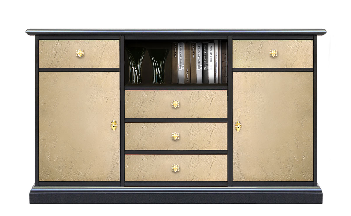 klassischer tv schrank 80 cm hoch riace frank m bel. Black Bedroom Furniture Sets. Home Design Ideas
