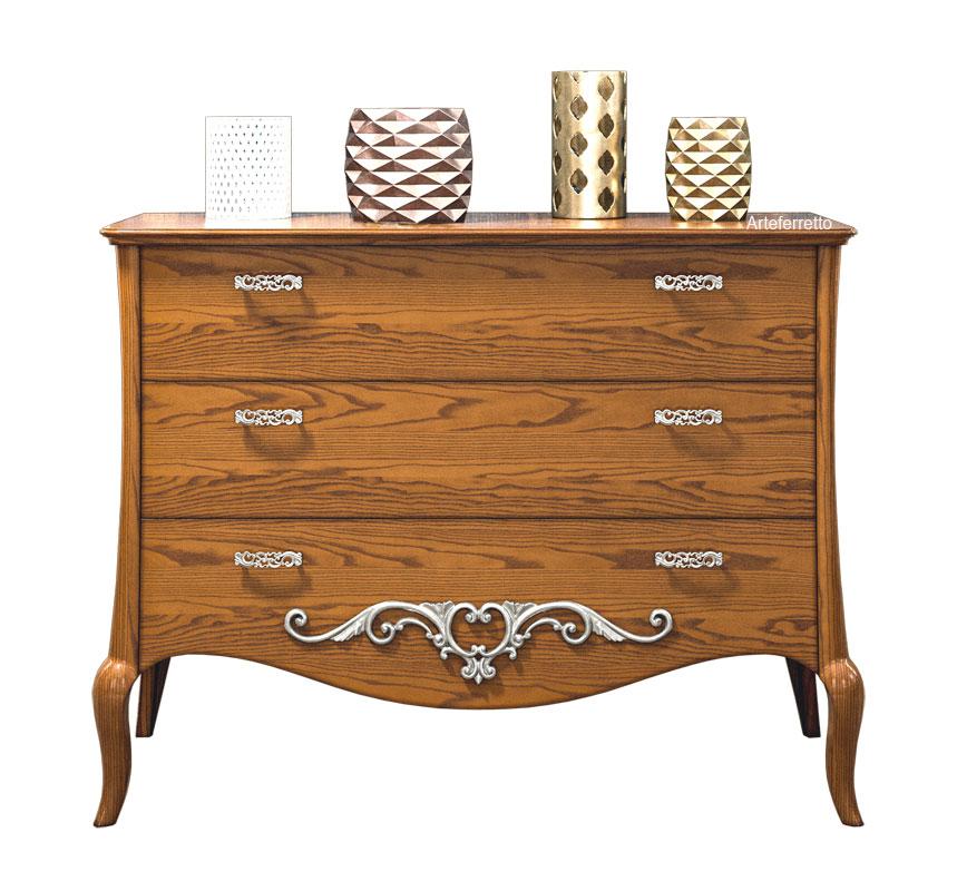 kommode mit f en klassisch modern romance frank m bel. Black Bedroom Furniture Sets. Home Design Ideas