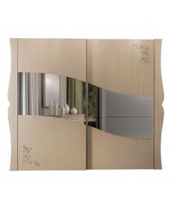 Kleiderschrank 2 verschiebbare Türen