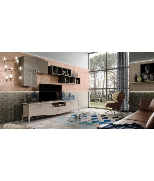 Wohnwand design modern, Art.-Nr. MZ-C101