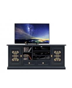 TV-Möbel 160 cm Schwarz