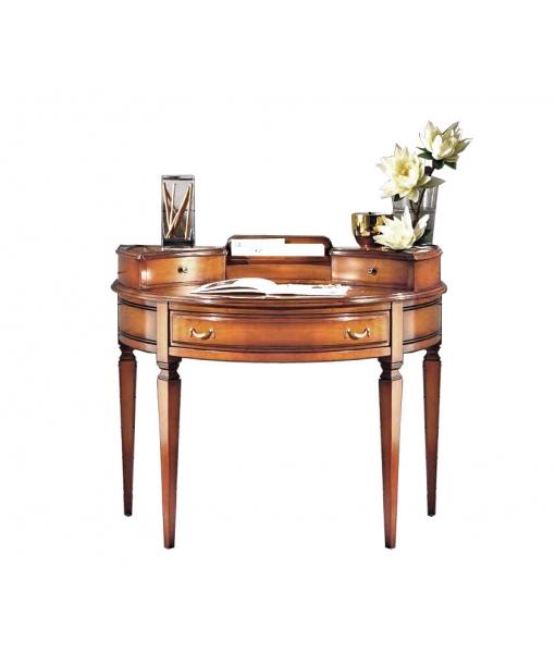 Schreibtisch halbrund klassisch, Art.-Nr. MZ-608