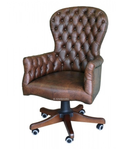 Drehsessel Chesterfield