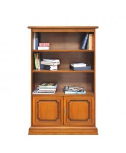Klassisches Bücherregal Massivholz