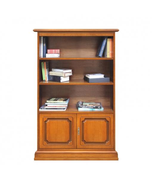 Klassisches Bücherregal Massivholz, Art.-Nr. 3190-S