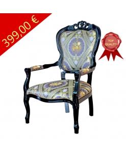 Klassischer Sessel schwarz